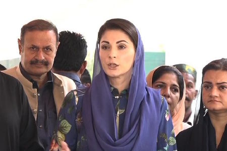 People are given their rights as if it is charity: Maryam Nawaz