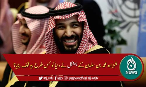 ولی عہد محمد بن سلمان کا ہمشکل سامنے آنے پر دھوم