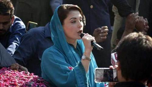 Imran Khan can't fool people anymore, fake PM is about to go: Maryam Nawaz