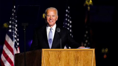 Biden calls America 'a beacon' for the globe, vows to lead by 'power of example'