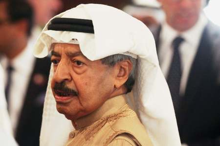 Bahrain's security hawk prime minister dies aged 84