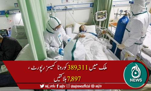 پاکستان میں کورونا وائرس سے مزید 54 ہلاکتیں، 3,113 نئے کیسز رپورٹ