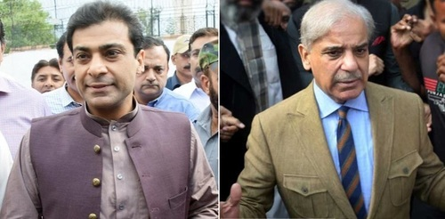 Notification of Shehbaz Sharif, Hamza Shahbaz's release issued