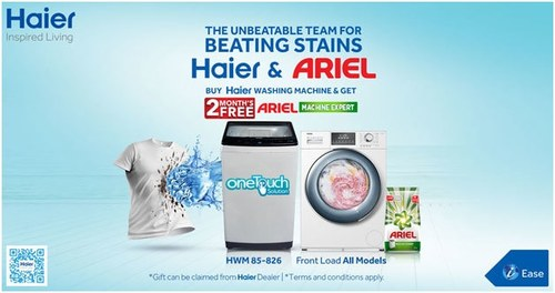 Haier Washing Machine Promotional Offer