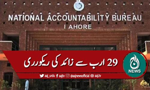 نیب لاہور:2020 ،29 ارب روپے سے زائد ریکوری