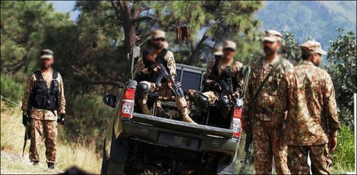 Security forces kill two terrorists in South Waziristan