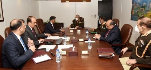 COAS visits ISI Headquarters, expresses confidence in its professionalism