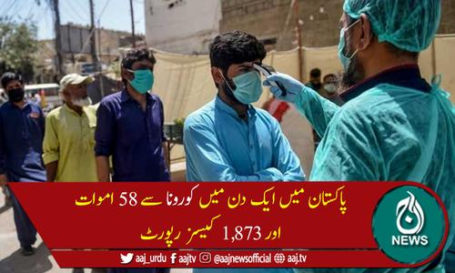 پاکستان میں کوروناکیسز کی تعداد 535,914 ہوگئی، 11,376افرادجاں بحق