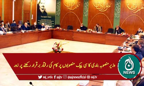 وزیرمنصوبہ بندی کا سی پیک منصوبوں پر کام کی رفتار برقرار رکھنے پر زور