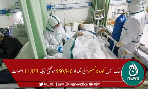 پاکستان میں کورونا کے وار جاری،مزید31 اموات،1,508 نئےکیسز رپورٹ