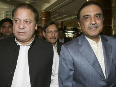 Senate polls: Nawaz holds telephonic conversation with Zardari