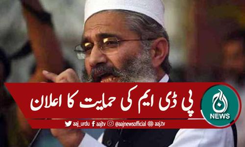 سینیٹ الیکشن ، جماعت اسلامی کا پی ڈی ایم کی حمایت کا اعلان