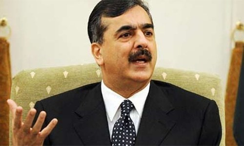 Gillani asks PM Khan to vote for him in Senate