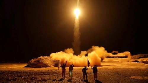 Yemen's Houthis say they fired missile at Saudi Aramco site in Jeddah