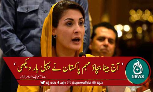 جعلی وزیراعظم نے گن پوائنٹ پر ووٹ لیا، مریم نواز