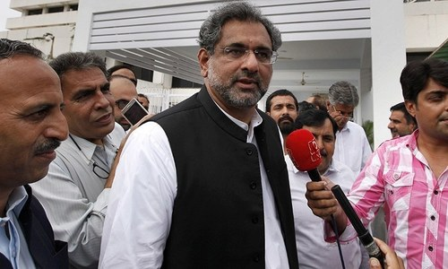 PTI govt ready to go to any extent for the sake of power: Shahid Khaqan