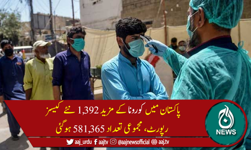 پاکستان میں کورونا سےمزید 61 اموات، جاں بحق افراد کی تعداد 13,717ہوگئی