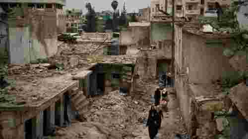 World urged to donate to Syria after decade of war