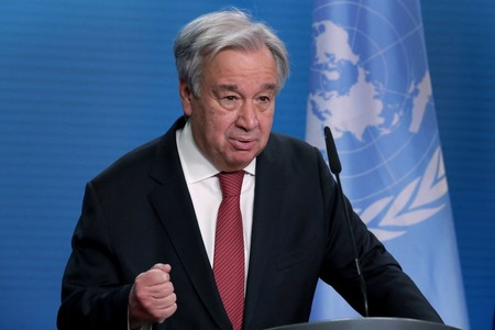 WORLD UN chief calls for more pandemic debt relief for poorer nations