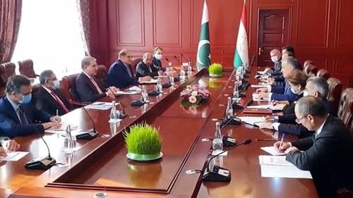 Pakistan, Tajikistan agree to promote economic, trade ties
