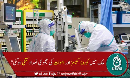پاکستان میں کوروناوائرس سے مزید 98 اموات، 4,974 نئے کیسز رپورٹ