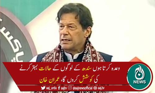 پنجاب میں مافیا سے مقابلہ تھا،اس لئے سندھ میں توجہ نہیں دے سکا، وزیراعظم