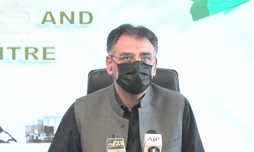 Asad Umar appeals people to demonstrate seriousness in observance of SOPs