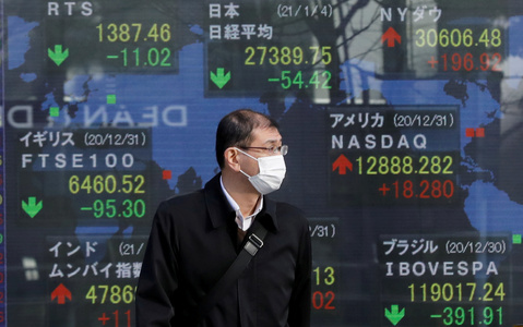 Asia joins global equity rebound; oil slips on COVID-19 worries