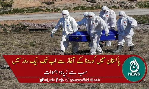 پاکستان: کورونا وائرس کے باعث مزید 157 افراد جاں بحق