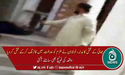 بھائی کے قتل کا بدلہ، احاطہ عدالت میں ملزم قتل، ویڈیو منظر عام پر