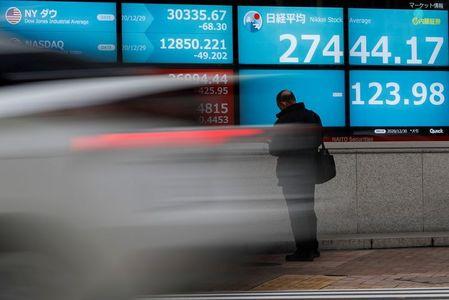 Asia slips into holiday lull, U.S. data set to shine