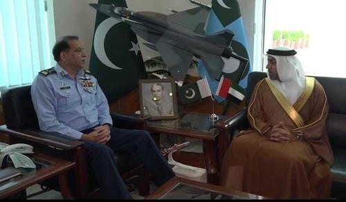 Air Chief, UAE Ambassador discuss matters of mutual interests, bilateral cooperation