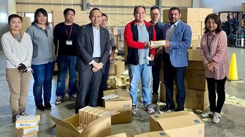 Japan provides 130,000 COVID-19 testing kits to Pakistan