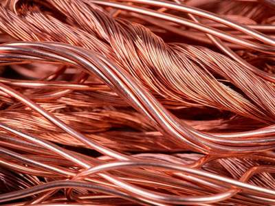 Copper scales record high on industry and speculative buying