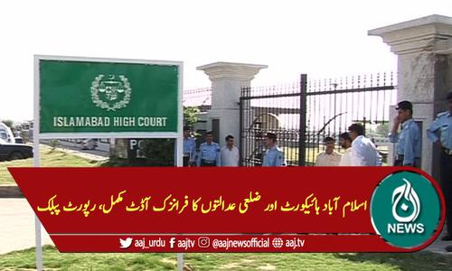 اسلام آباد ہائیکورٹ اور ضلعی عدالتوں کا فرانزک آڈٹ مکمل، رپورٹ پبلک