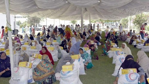 FC distributes Eid food packages among 300 deserving families of South Waziristan