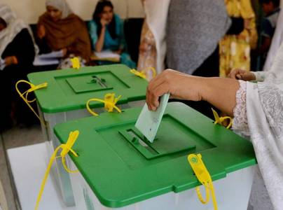 Voting underway in PS 70 by elections Badin