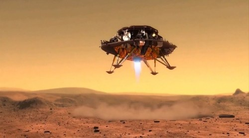 China says Martian rover takes first drive on surface of Red Planet