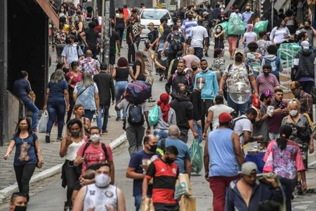 Brazil COVID-19 deaths at 461,931 as total cases hit 16.5 million