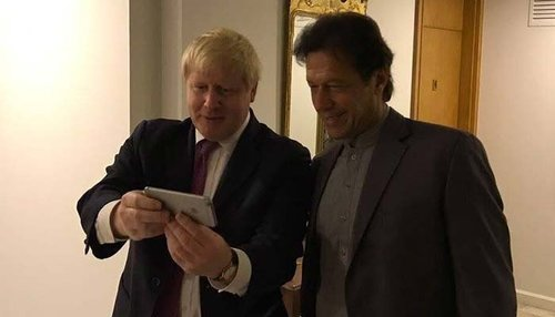 PM Imran, British PM exchange views on bilateral relations, Afghan peace process