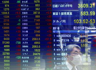 Asia stocks open higher on record for MSCI's All Country World Index