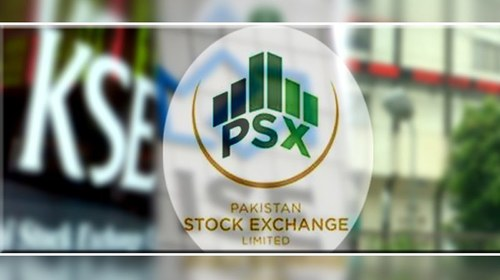 The Pakistan Stock Exchange continues to recede