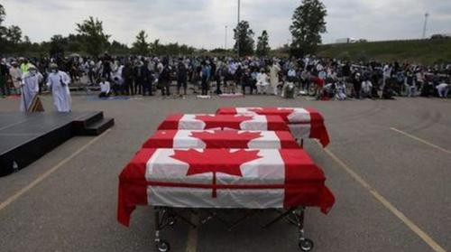 Canada pays final homage to family killed in truck attack