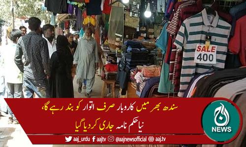 سندھ حکومت نے کورونا ایس او پیز کا نیا حکم نامہ جاری کردیا