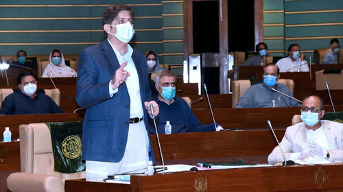 Sindh presents budget for FY2021-22 with total outlay of Rs1.48 trillion