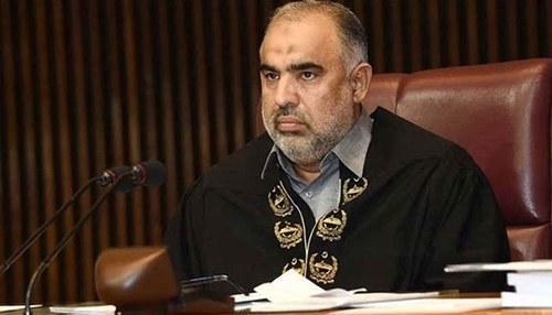 Asad Qaiser calls for a probe against un-parliamentary attitude of members