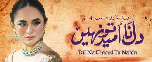 """Why you should be watching """"Dil Na Umeed to Nahin"""""""