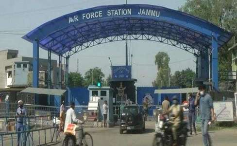 Two explosions reported at Jammu Air Force station in occupied Kashmir