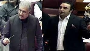 Zardari, Qureshi NA debate gets heated & personal