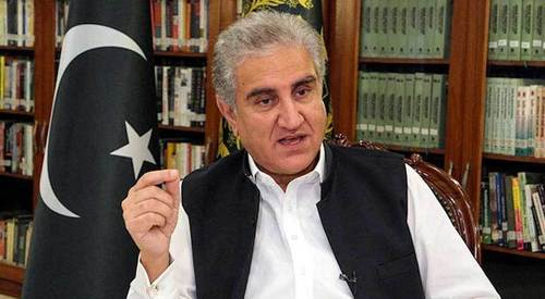 India's nefarious designs posed a threat to regional security: FM Qureshi